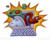 Каква е разликата между компютърен вирус и компютърен червей