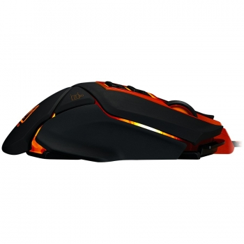 CANYON Optical gaming mouse, adjustable DPI setting 800/1000/1200/1600/2400/3200/4800/6400, LED backlight, moveable weight slot and retractable top cover for comfortable usage CND-SGM6N-CND-SGM6N