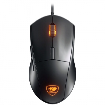 COUGAR Minos XT Gaming Mouse, RGB 3 zone 16.8 million colors,4000 DPI,ADNS-3050 Optical gaming sensor,1000Hz Polling Rate,20M gaming switches,6 Programmable Buttons,Dimension 125-CG3MMXTWOB0001