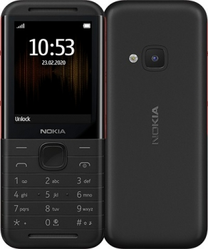 NOKIA 5310 DS BLACK/RED
