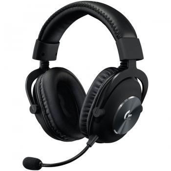 LOGITECH Pro X Gaming Headset - 7.1 / Blue Microphone 981-000818-981-000818